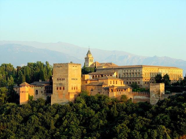 Alhambra, Granada, Spania