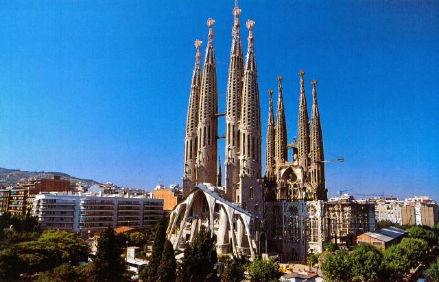 Sagrada Familia, Barcelona, Spania