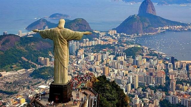 Statuia lui Isus, Rio De Janeiro, Brazilia
