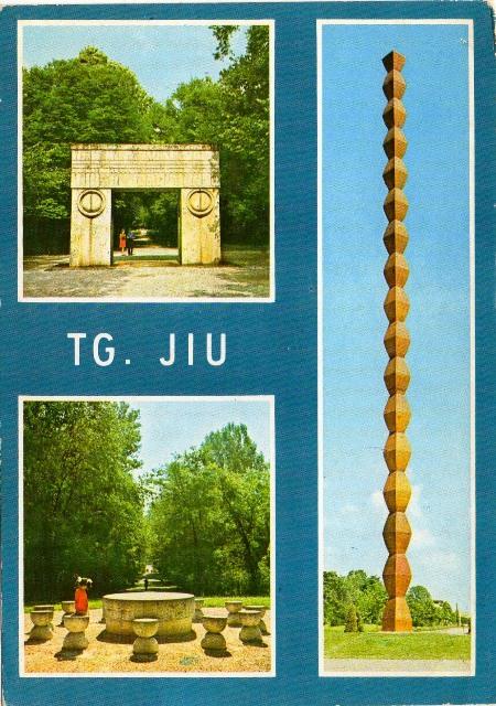 coloana infinitului poarta sarutului masa tacerii