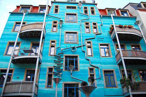 perete ce canta cand ploua, Germania