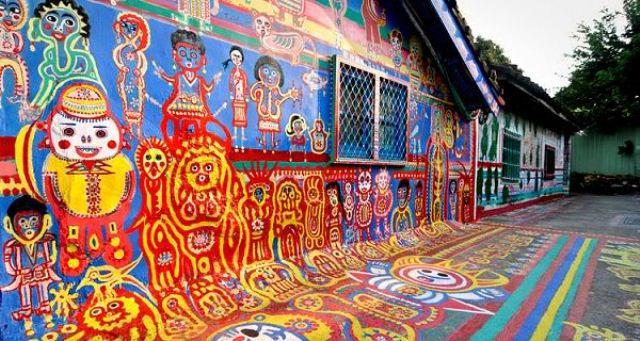 rainbow village taichung taiwan 2
