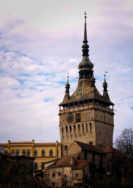 turnul ceasului sighisoara