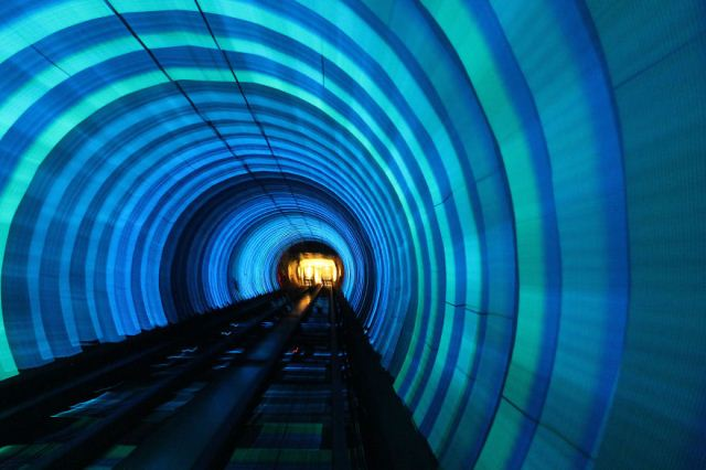 Statia Bund Sightseeing Tunnel, Shanghai, China