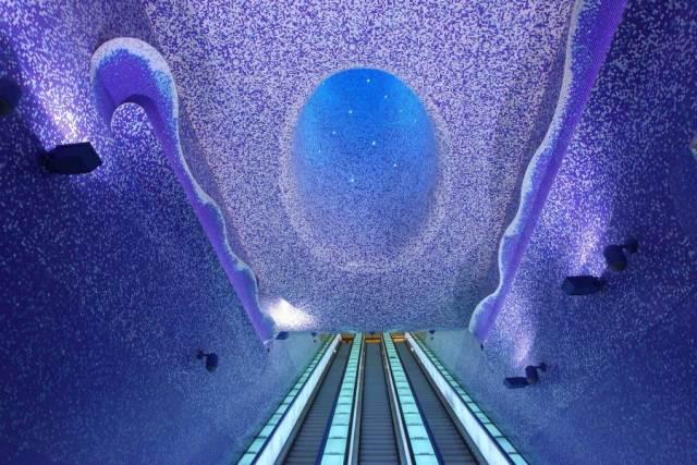 Statia de metrou Toledo, Napoli, Italia 3
