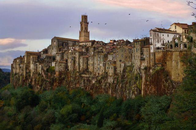 Pitigliano, Grosseto, Italia