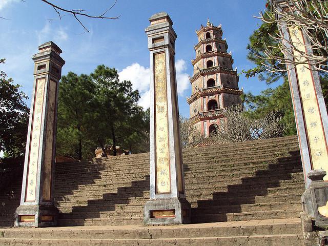 Thien Mu Pagoda (Hue), Vietnam