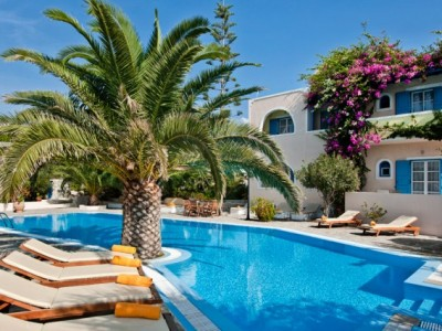 charter Santorini Hotel Best Western Paradise