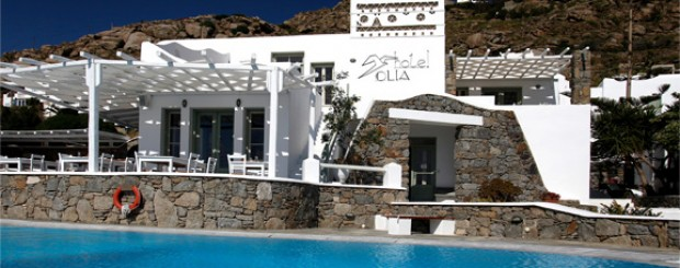 charter mykonos - hotel olia