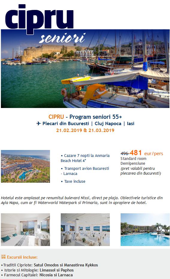 All Inclusive Travel » Charter Cipru pentru toti 2019